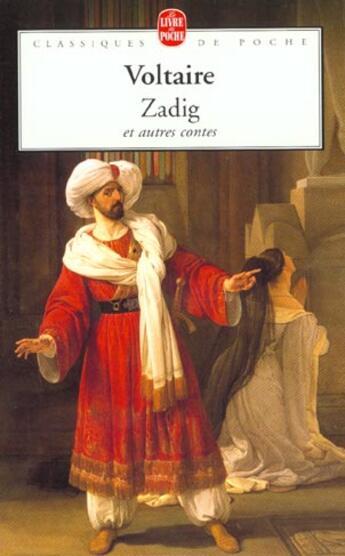Couverture du livre « Zadig et autres contes » de Voltaire aux éditions Lgf