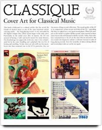 Couverture du livre « Classique, cover art for classical music » de Scherg Horst aux éditions Dgv