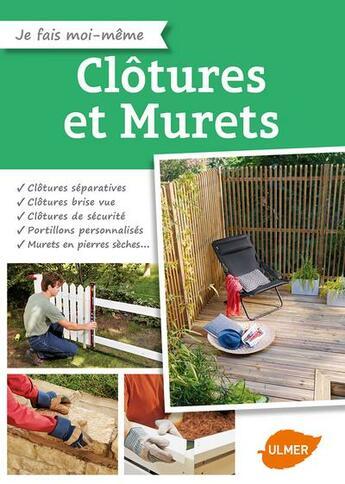 Couverture du livre « Clôtures et murets » de Collectif aux éditions Eugen Ulmer