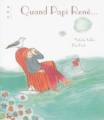Couverture du livre « Quand papi René » de Nathalie Vallee aux éditions Points De Suspension