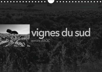 Couverture du livre « Vignes du sud terroirs d aoc calendrier mural 2018 din a4 ho - paysages des terroirs viticole » de Perrin E aux éditions Calvendo