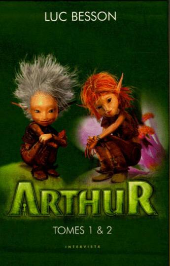 Couverture du livre « Arthur ; coffret t.1 et t.2 » de Luc Besson aux éditions Intervista
