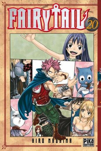 Couverture du livre « Fairy tail t.20 » de Hiro Mashima aux éditions Pika