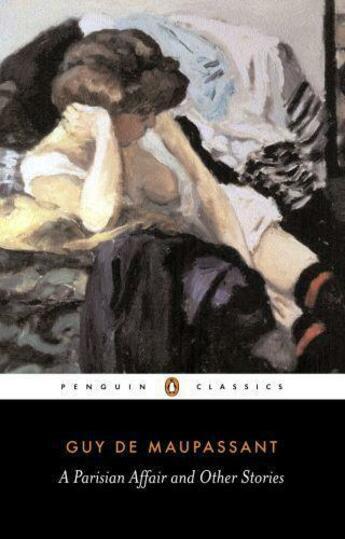 Couverture du livre « A parisian affair and other stories » de Guy de Maupassant aux éditions Adult Pbs