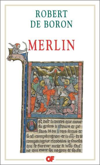 Couverture du livre « Merlin » de Robert De Boron aux éditions Flammarion