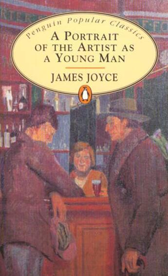 Couverture du livre « A portrait of the artist as a young man » de James Joyce aux éditions Popular Classic