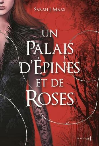 Couverture du livre « Un palais d'épines et de roses t.1 » de Sarah J. Maas aux éditions La Martiniere Jeunesse
