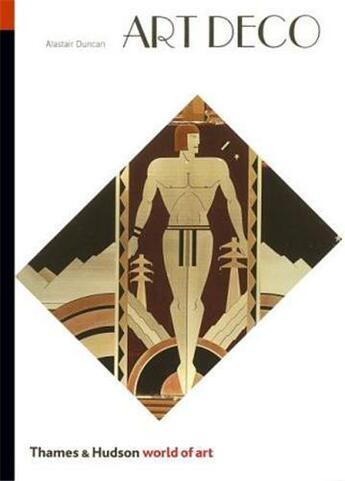 Couverture du livre « Art deco (world of art) » de Alastair Duncan aux éditions Thames & Hudson