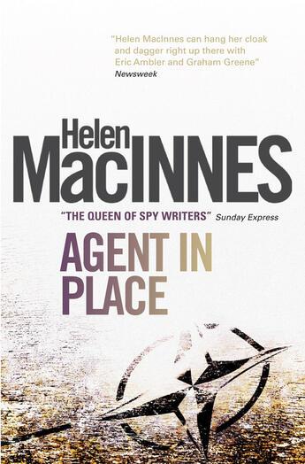 Couverture du livre « Agent in Place » de Macinnes Helen aux éditions Titan Digital