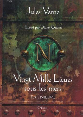Couverture du livre « 20 000 Lieues Sous Les Mers » de Jules Verne aux éditions Grund