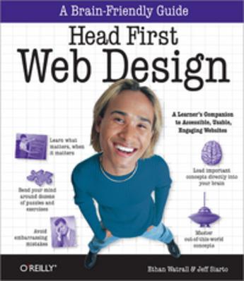 Couverture du livre « Head First Web design » de Jeff Siarto aux éditions O'reilly Media