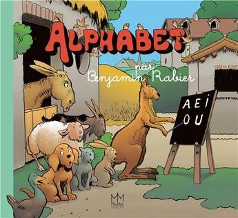 Couverture du livre « Alphabet » de Benjamin Rabier aux éditions Mic Mac Editions
