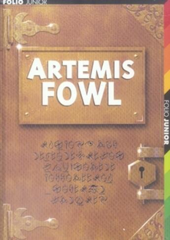 Couverture du livre « Artemis Fowl » de Eoin Colfer aux éditions Gallimard-jeunesse