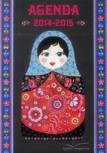Couverture du livre « Agenda scolaire Corinne Demunyck 2014/2015 » de Corinne Demuynck aux éditions Gautier Languereau