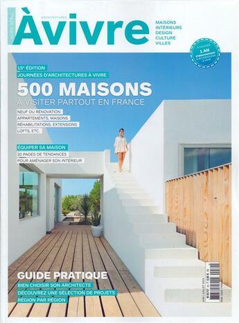 Couverture du livre « Architectures A Vivre T.30 » de Architectures A Vivre aux éditions Architectures A Vivre