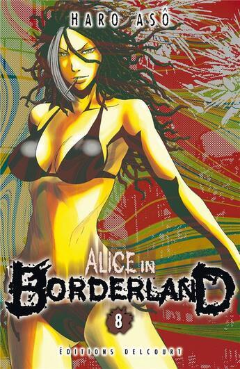 Couverture du livre « Alice in Borderland T.8 » de Haro Aso aux éditions Delcourt