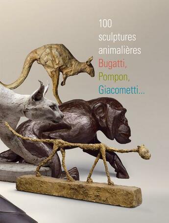 Couverture du livre « 100 scupltures animalières » de Collectif aux éditions Somogy