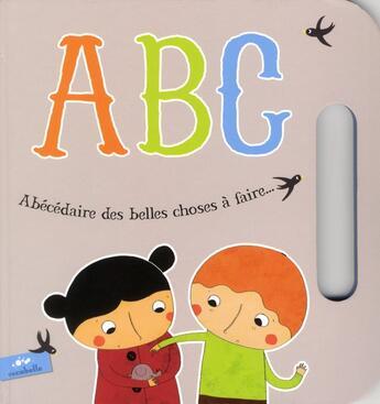 Couverture du livre « Abecedaire des belles choses à faire » de Geraldine Collet aux éditions Escabelle