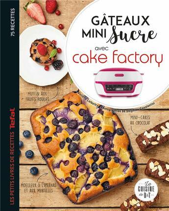 Couverture du livre « Gâteaux mini sucre avec cake factory » de Delphine Amar-Constantini et Lalbaltry Juliette aux éditions Dessain Et Tolra