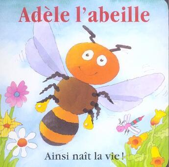 Couverture du livre « Adele L'Abeille » de Davies aux éditions Les Deux Souris