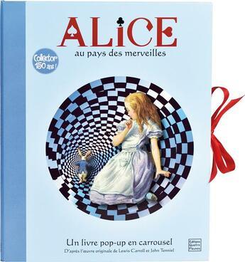 Couverture du livre « Alice au pays des merveilles » de Claire Allouch et John Tenniel aux éditions Quatre Fleuves