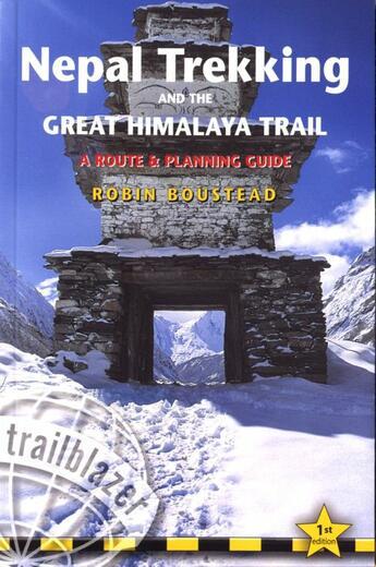 Couverture du livre « **Nepal Trekking And The Great Himalaya Trail » de  aux éditions Trailblazer