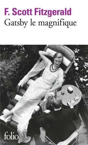 Couverture du livre « Gatsby le magnifique » de Francis Scott Fitzgerald aux éditions Gallimard