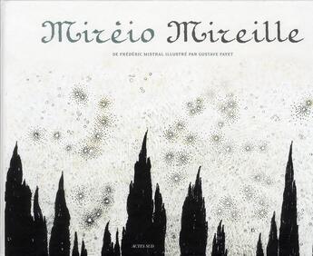 Couverture du livre « Mireio Mireille » de Frederic Mistral aux éditions Actes Sud