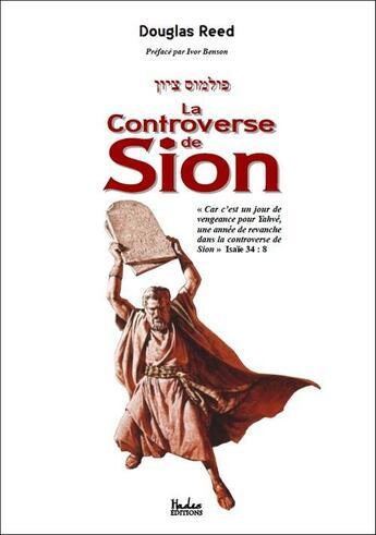 Couverture du livre « La controverse de Sion » de Douglas Reed aux éditions Hades