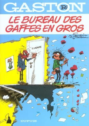 Couverture du livre « Gaston Lagaffe t.2 ; bureau gaffes en gros » de Franquin aux éditions Dupuis