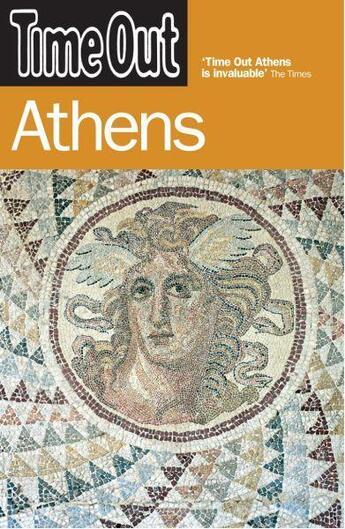 Couverture du livre « ATHENS - 3RD EDITION » de Collectif aux éditions Time Out