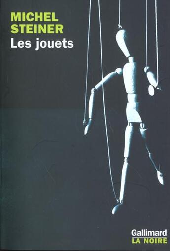 Couverture du livre « Les jouets » de Michel Steiner aux éditions Gallimard