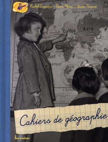 Couverture du livre « Cahiers de géographie » de  aux éditions Arenes