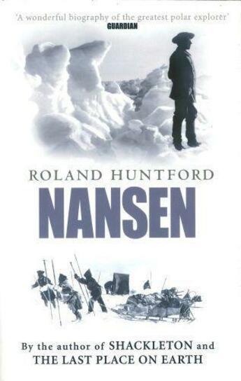 Couverture du livre « Nansen » de Huntford Roland aux éditions Little Brown Book Group Digital