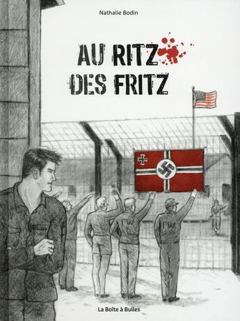 Couverture du livre « Au ritz des fritz » de Nathalie Bodin aux éditions La Boite A Bulles