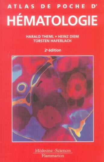 Couverture du livre « Atlas de poche d'hematologie (2e edition) » de Collectif aux éditions Medecine Sciences Publications