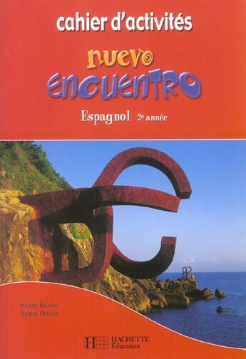 Couverture du livre « 2e annee » de Offroy-N+Knafou-H aux éditions Hachette Education