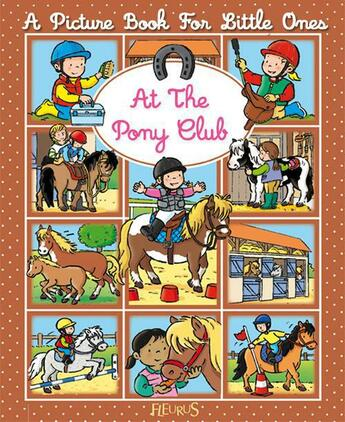 Couverture du livre « At the pony-club » de Emilie Beaumont et Sylvie Michelet aux éditions Fleurus