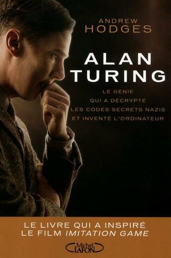 Couverture du livre « Alan Turing » de Andrew Hodges aux éditions Michel Lafon