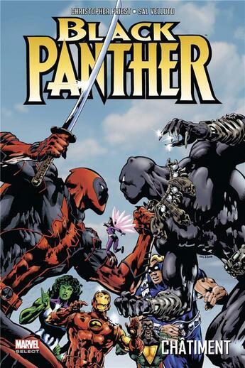 Couverture du livre « Black Panther T.2 ; châtiment » de Christopher Priest et Sal Velluto aux éditions Panini