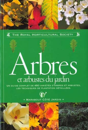 Couverture du livre « Arbres Et Arbustes » de Royal Horticultural aux éditions Marabout