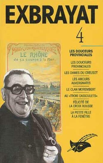 Couverture du livre « Integrales Tome 4 » de Exbrayat-C aux éditions Editions Du Masque