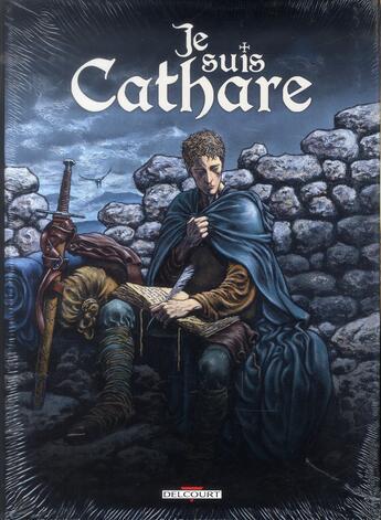 Couverture du livre « Je suis cathare ; COFFRET T.1 A T.4 » de Makyo et Claudia Chec et Alessandro Calore aux éditions Delcourt