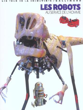 Couverture du livre « LES ROBOTS AU SERVICE DE L'HOMME » de Bridgman Roger aux éditions Gallimard-jeunesse