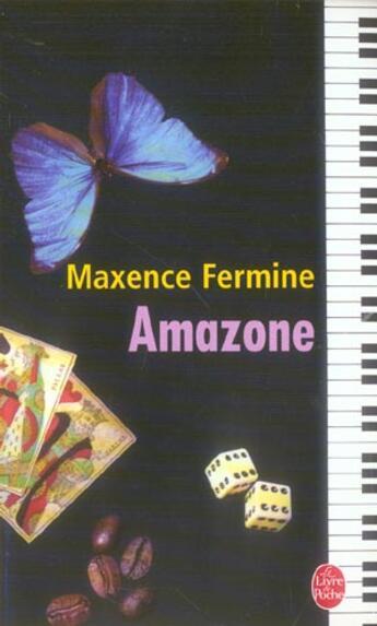 Couverture du livre « Amazone » de Maxence Fermine aux éditions Lgf