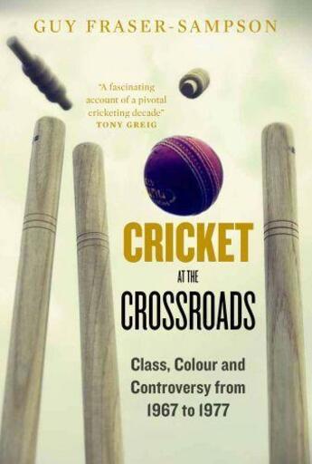 Couverture du livre « Cricket at the Crossroads » de Fraser-Sampson Guy aux éditions Elliott And Thompson Digital