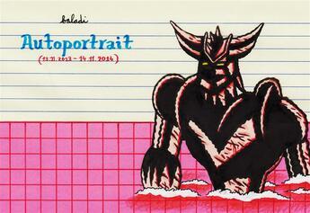 Couverture du livre « Autoportrait (13.11.2013 - 14.11.2014) » de Baladi aux éditions Atrabile