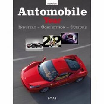 Couverture du livre « Automobile year t.57 ; 2009/2010 » de Collectif aux éditions Etai