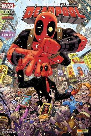Couverture du livre « All-New Deadpool T.1 » de Collectif aux éditions Panini