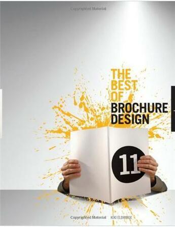 Couverture du livre « The best of brochure design 11 (hardback) » de Eldridge Kiki aux éditions Rockport
